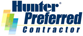 Quality Green, LLC is a Hunter irrigation Preferred contractor.