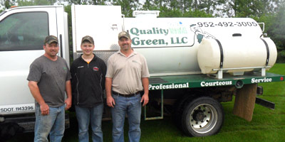 Quality Green, LLC is a Family Owned & Operated business providing weed control and lawn services in Jordan, MN since 1979.